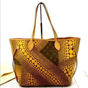 Louis Vuitton Yayoi Kusama Waves Dots Neverfull Mm